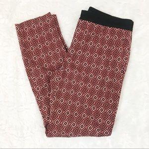 Zara Geometric print pants